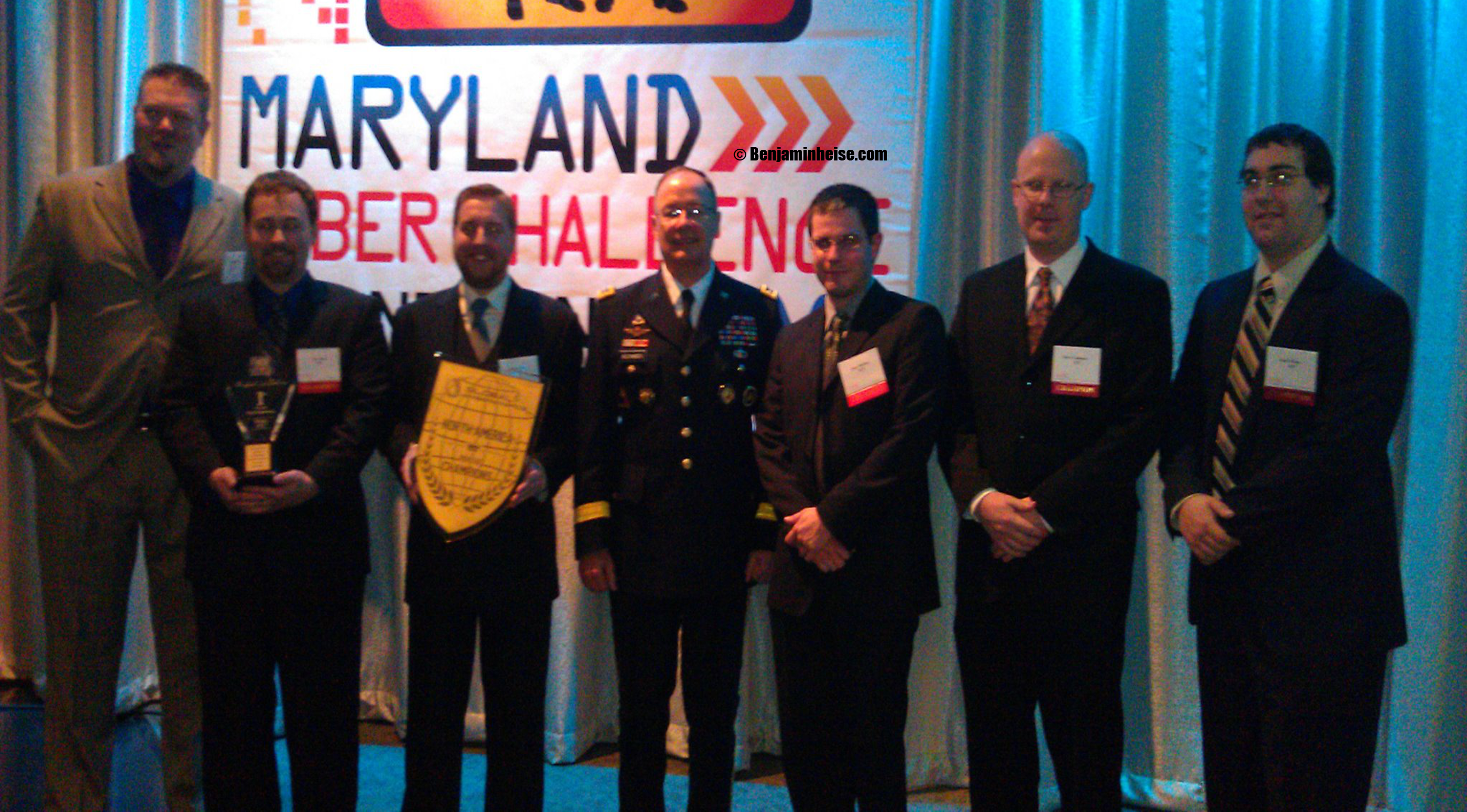 TeamICF with then NSA director General Keith Alexander